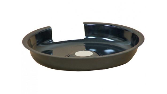 Bolle de 6 pouce  en porcelaine  noir CP6-2