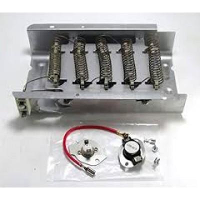 Kit -élément et thermostat - fuse  pour sécheuse - whirlpool - kenmore  générique  Supco  le DE838 et SET-194
