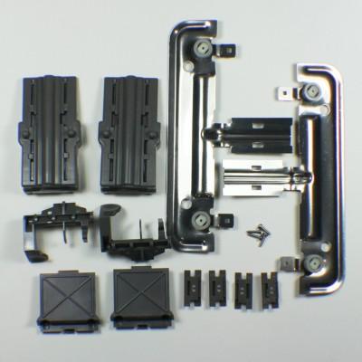 Kit de montage pour panier supérieur lave-vaisselle whirlpool / kenmore   2 / paquet w10712394