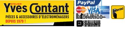 Vente de pièces d'électroménagers en ligne, Sale of household appliance parts online