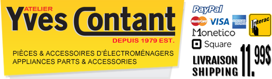 Vente de pièces d'électroménagers en ligne - Sale of household appliance parts online