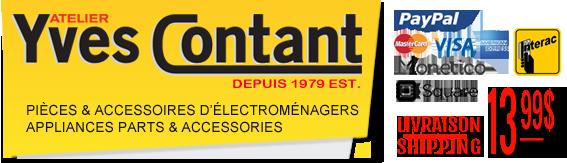 Vente de pièces d'électroménagers en ligne |Sale of household appliance parts online